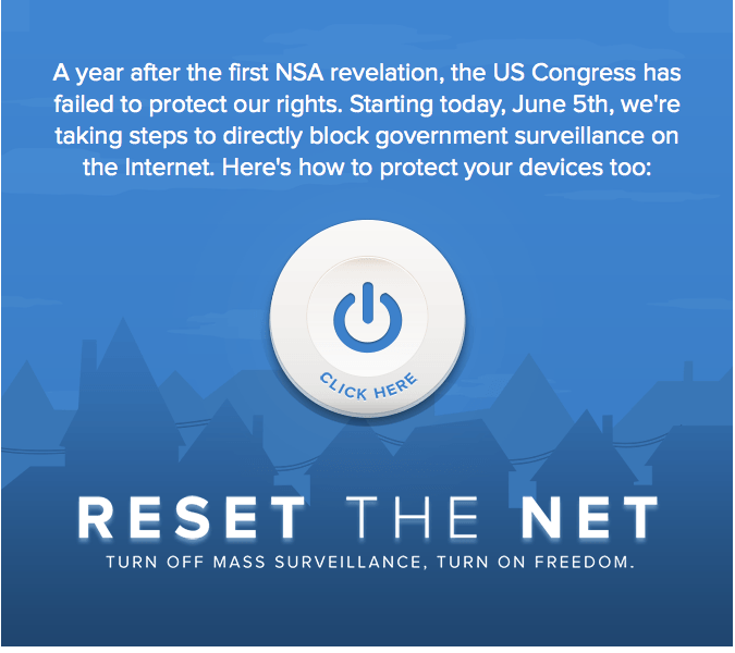 Reset the Net