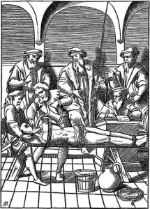 Waterboarding During the Spanish Inquisition