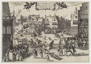 Conspirators' Execution (Claes Janszoon Visscher)