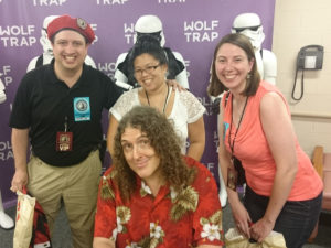 "Meeting ""Weird Al"""